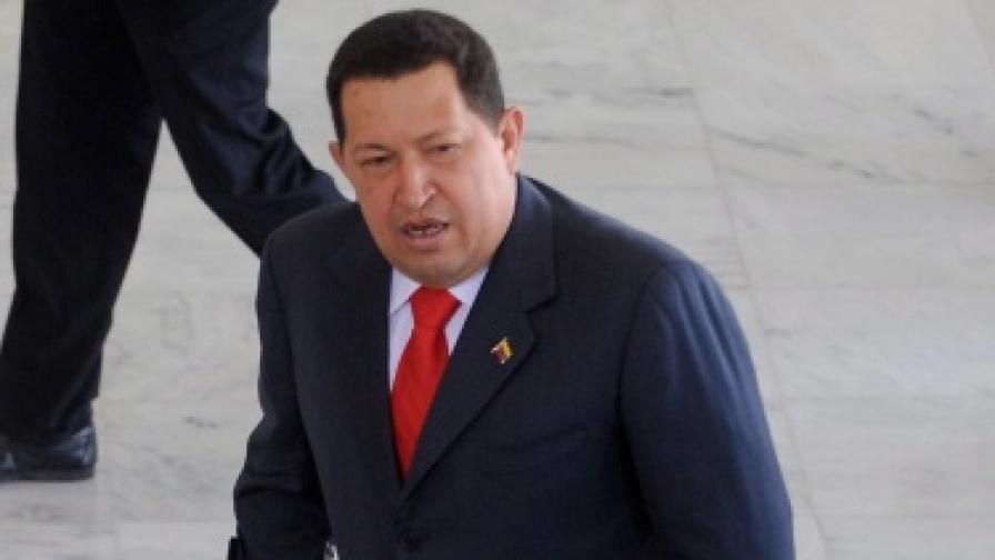 Чавес призна, че имал рак