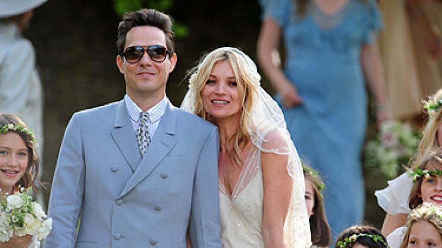 Кейт Мос се омъжи