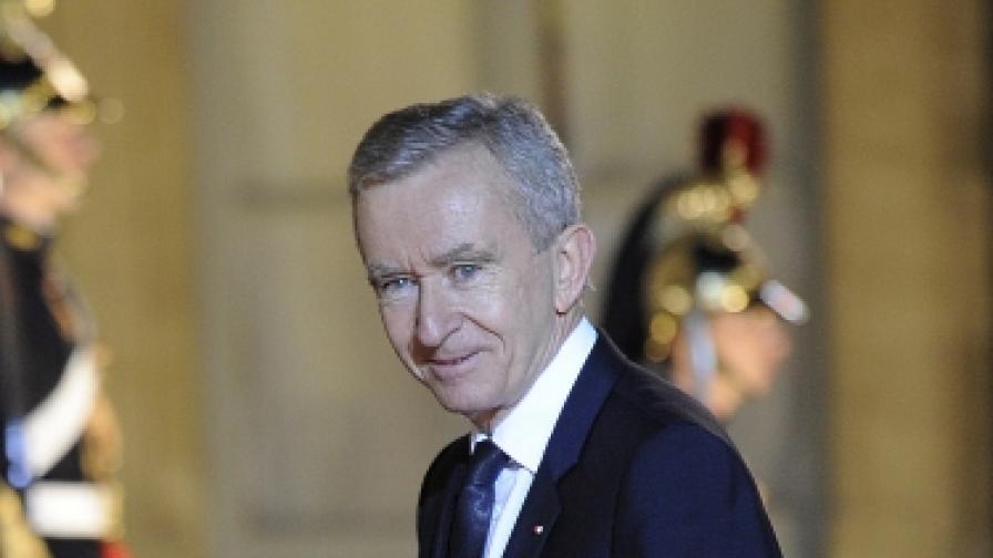 Френският бизнесмен Бернар Арно