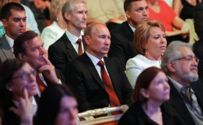 Скандал заради германска награда за Путин