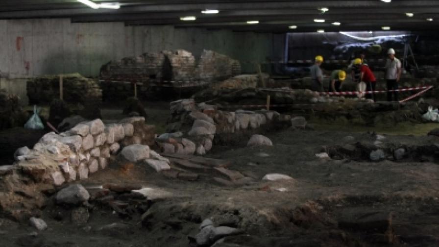 """Античният комплекс """"Сердика"""" - археологическо бижу в центъра на столицата"""