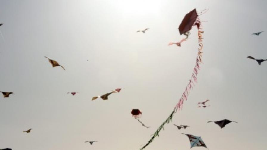 Палестински деца с нов рекорд за хвърчила