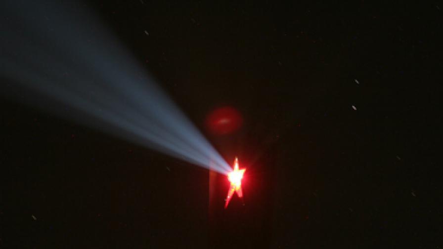 Звездата на Бузлуджа светна, въпреки забраните