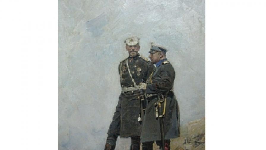 Ярослав Вешин. Цар Фердинанд и ген. Николаев
