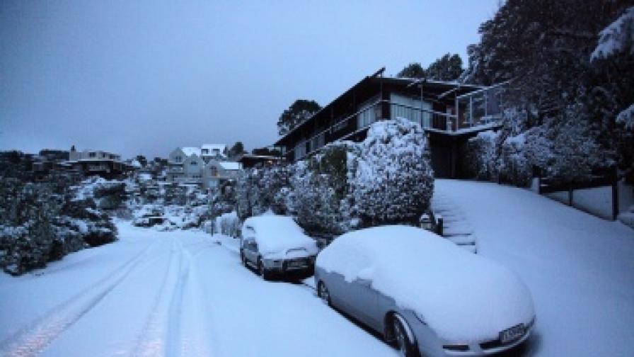 Уелингтън, столицата на Нова Зеландия