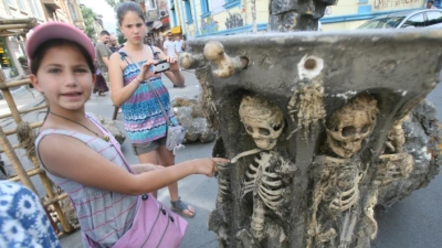 """На 14 август на ул. Цар Иван Шишман"""" """"София диша"""" беше посветена на чудесата на киното и художеството"""