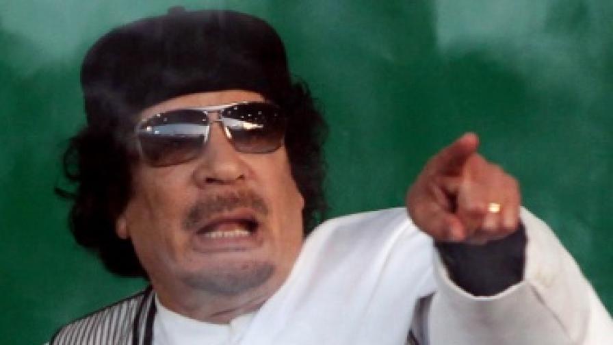 Медии в САЩ: Кадафи се готви да избяга
