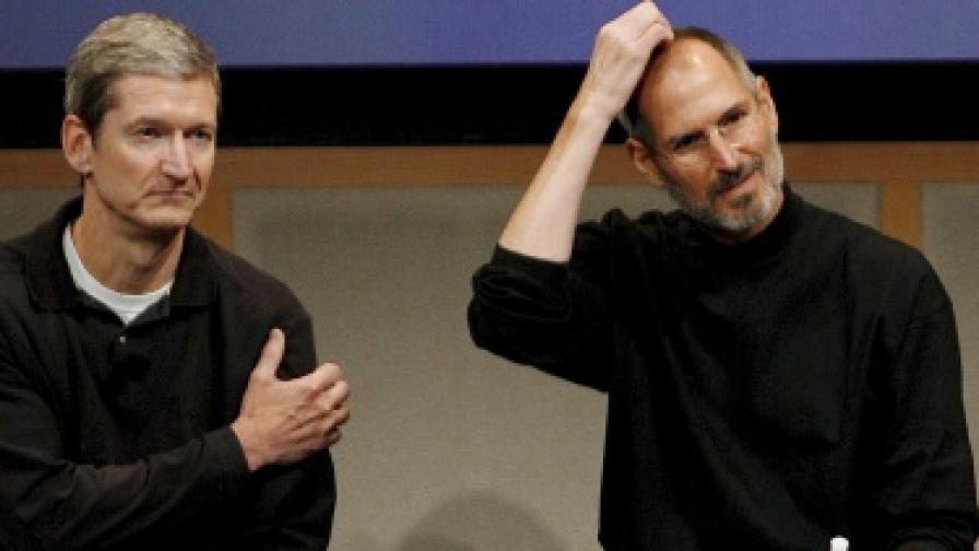 """Стив Джобс вече не е шеф на """"Епъл"""""""