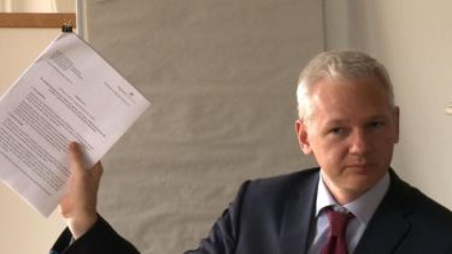 """Сайтът """"Уикилийкс"""" стана обект на кибер атака"""