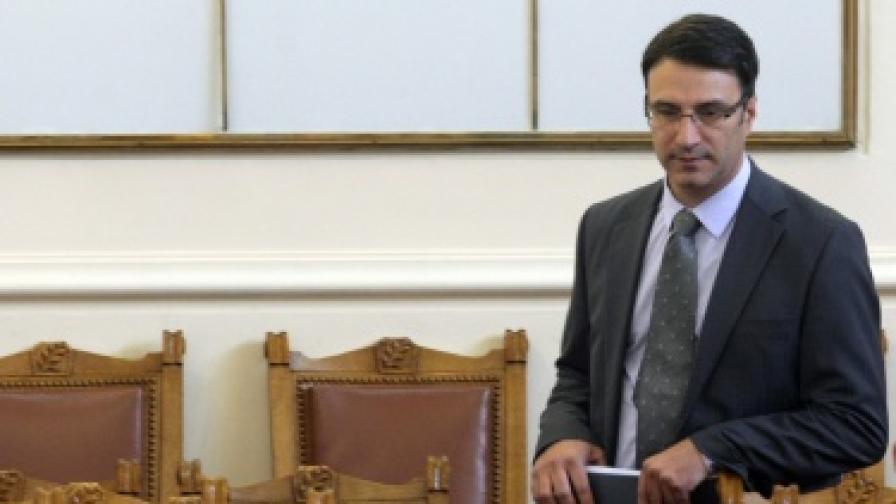 Трайчо Трайков в парламента