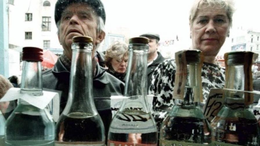 Пияни руснаци се блъснаха в ядрена подводница