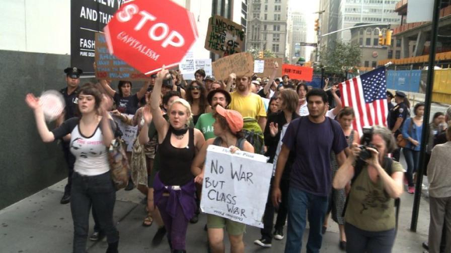 700 задържани при протест срещу Уолстрийт