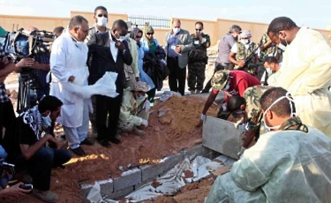 Откриха нови два масови гроба в Триполи