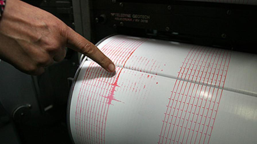 Две слаби земетресения у нас