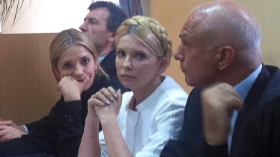 7 години затвор за бившия украински премиер Юлия Тимошенко