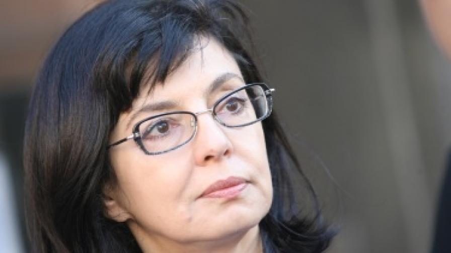 Кунева: Единственият, който може да предизвика предсрочни избори, е самият Борисов