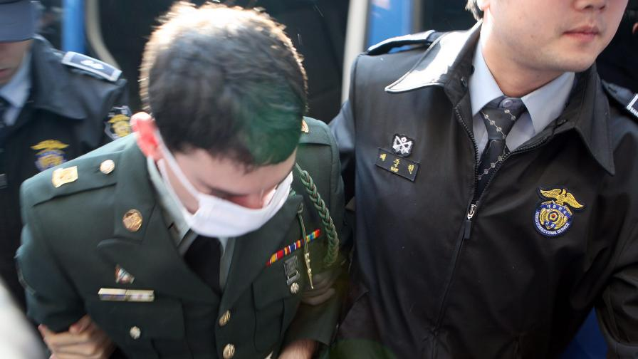 Антиамерикански настроения в Южна Корея заради американски войник изнасилвач