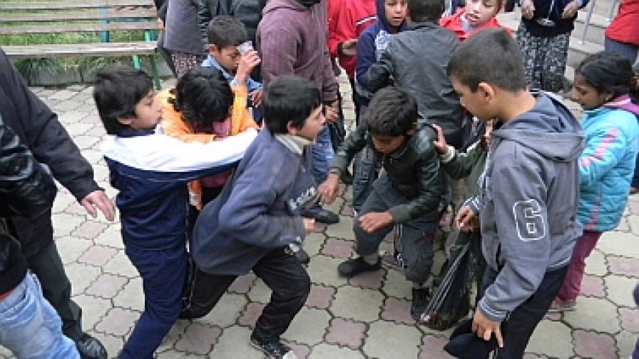 Бой за милостиня на Курбан Байрам в Кърджали