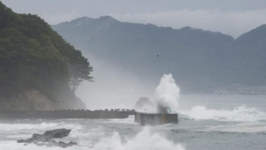 Пак земетресение в Япония