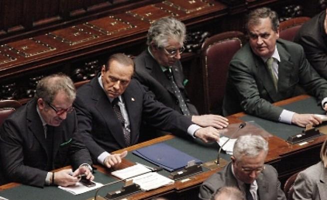 Берлускони изгуби мнозинство в парламента