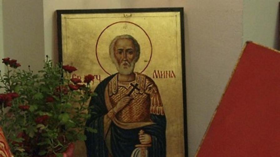 Св. Мина закриля семейството и жените