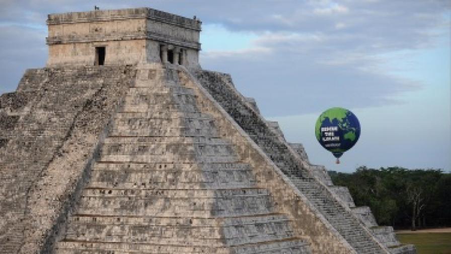 Древният град на маите Чичен Ица, който се намира в северната част на полуостров Юкатан, Мексико