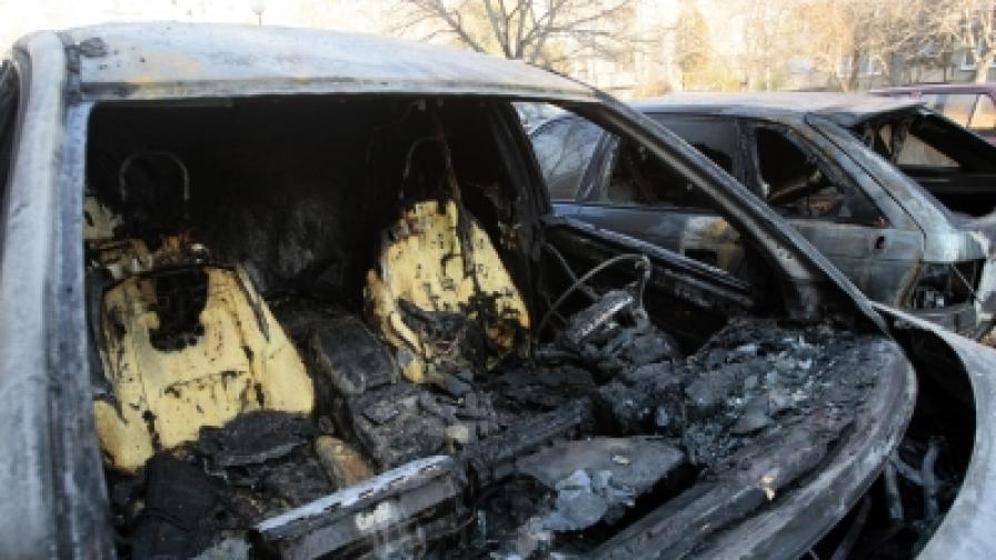 20 коли изгоряха за 45 дни в София