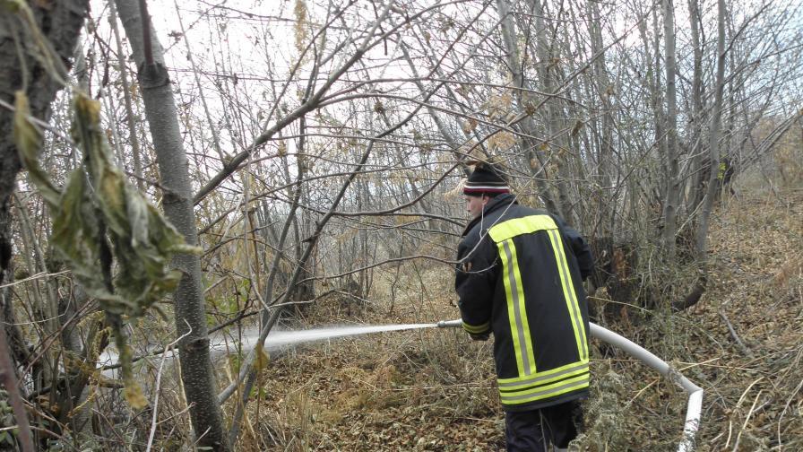 Окончателно потушиха пожара в Троянския Балкан