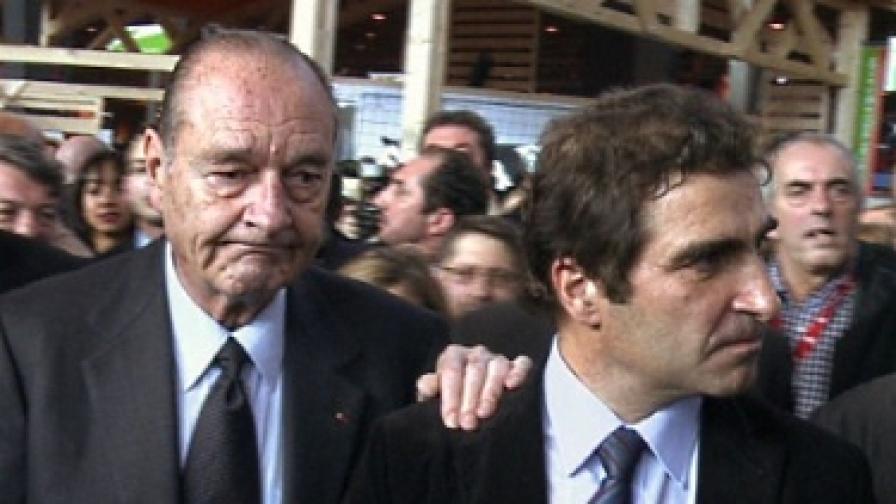 Жак Ширак получи две години затвор условно