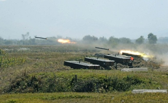 Пробно изстрелване на ракета в Северна Корея