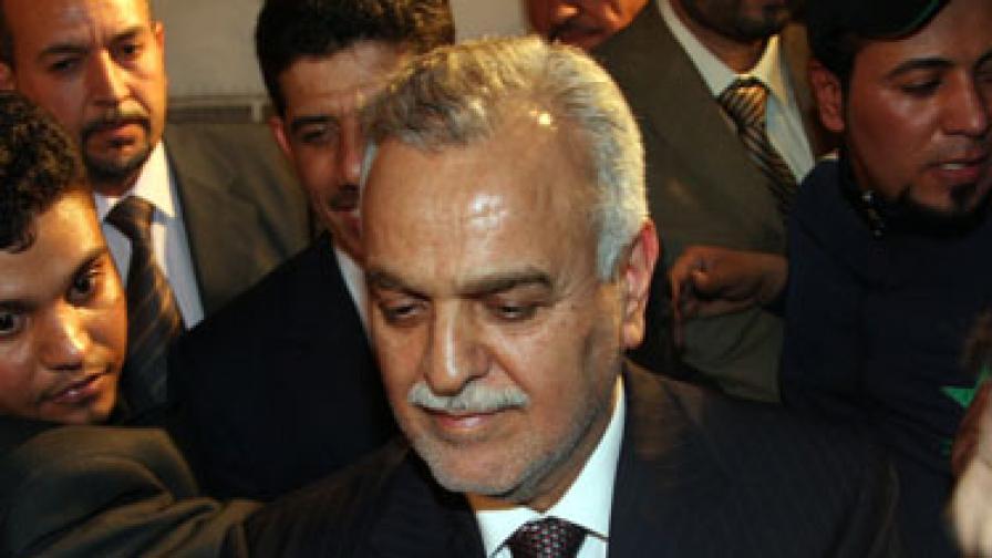 Арестуват вицепрезидент на Ирак за предполагаеми убийства