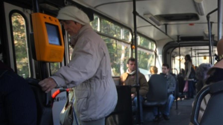 Колко са гратисчиите в градския транспорт