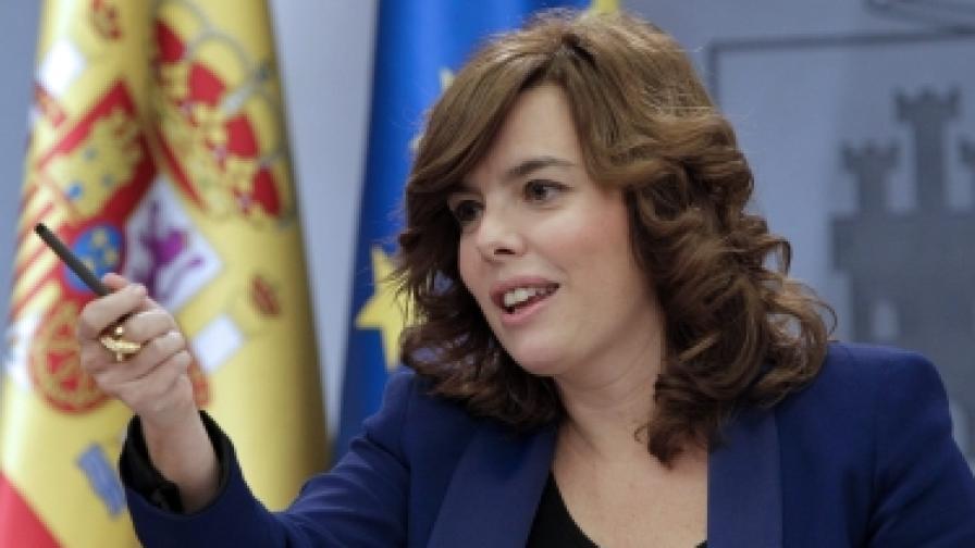 Сорая Саенс де Сантамария е правителствен говорител, вицепремиер и началник на испанското разузнаване