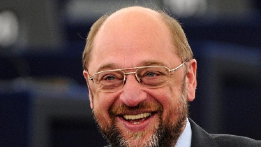Мартин Шулц е новият председател на ЕП