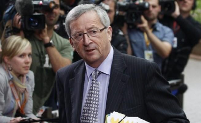 Юнкер: Еврозоната е пред техническа рецесия