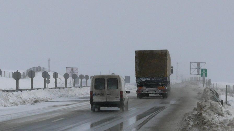 Максималната скорост за движение по магистралите става 140 км/ч