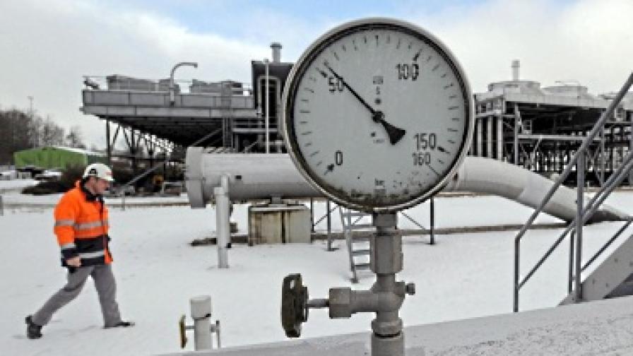 """""""Газпром"""": Не сме свивали доставки за Европа"""