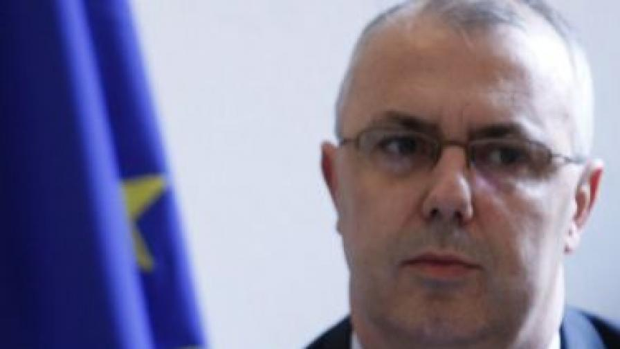 Зам.-министърът на вътрешните работи Веселин Вучков