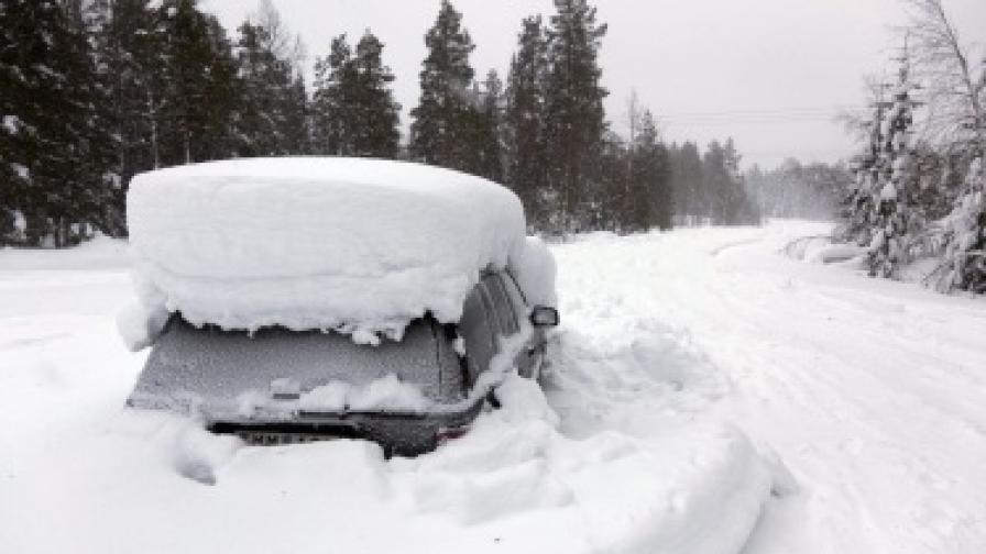 Швед оцеля два месеца без храна затрупан в снега