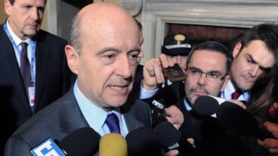 Френският външен министър Ален Жупе