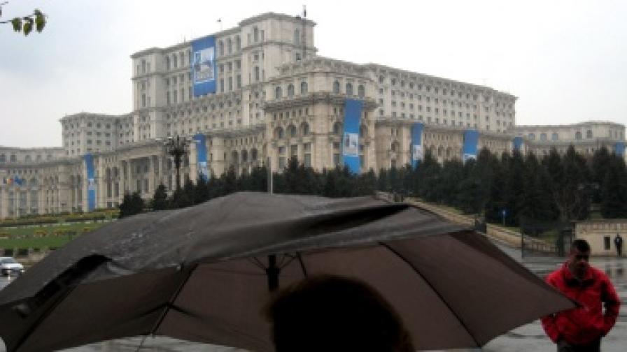 Сградата на румънския парламент