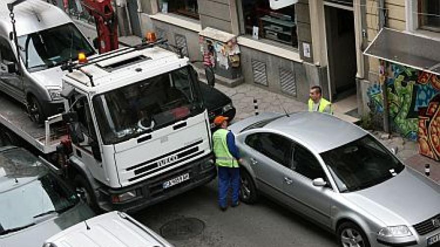 Двойно се увеличава глобата за репатриране на автомобил в София