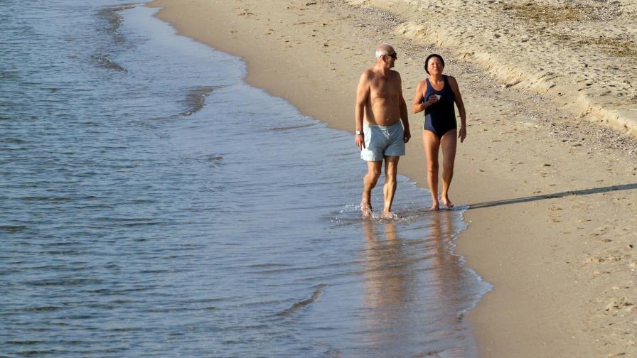 Плажът в Кранево вече е възстановен