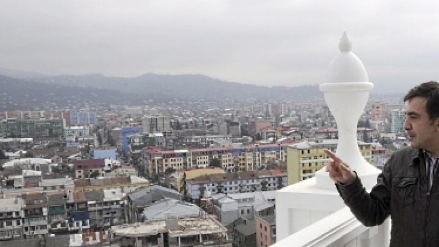 Алкохолен фонтан в Грузия ще привлича туристи