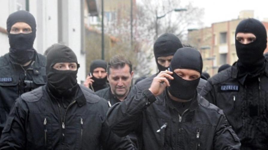 """Членове на звеното на френската полиция за борба с тероризма """"Рейд"""