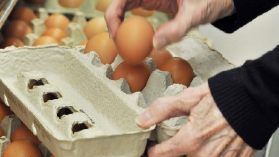 Яйцата поевтиняват