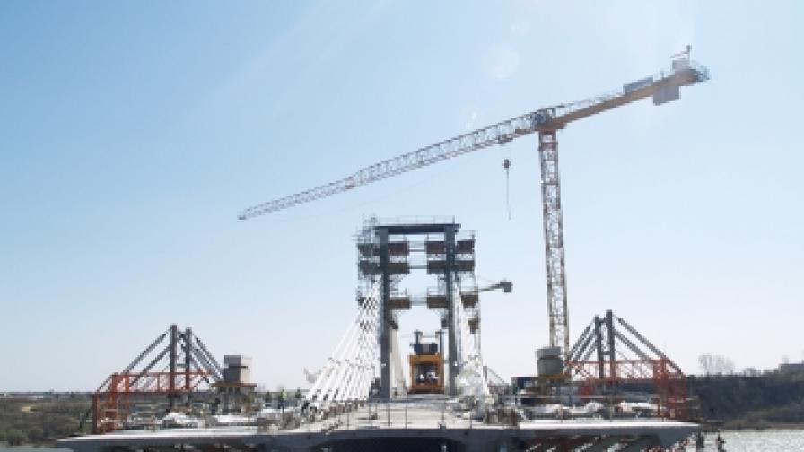 """Над 90% е готова инфраструктурата на """"Дунав мост 2"""""""