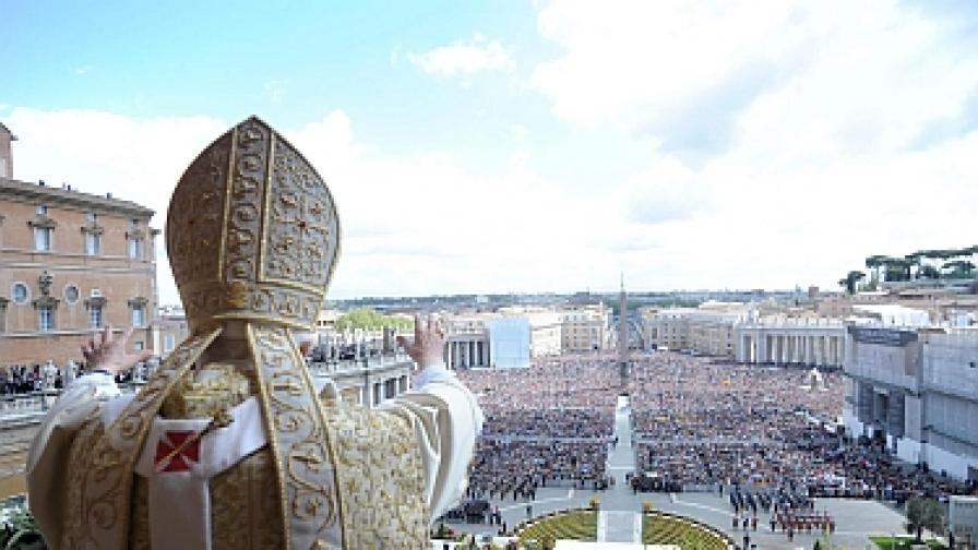 Папата: Без Бог техническият прогрес е нищо