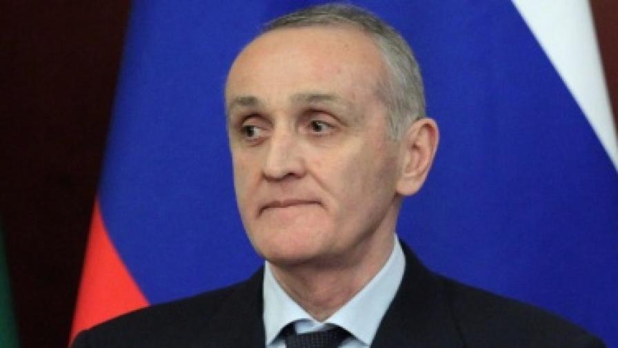 Президентът на Абхазия Александър Анкваб, срещу когото често се организират атентати