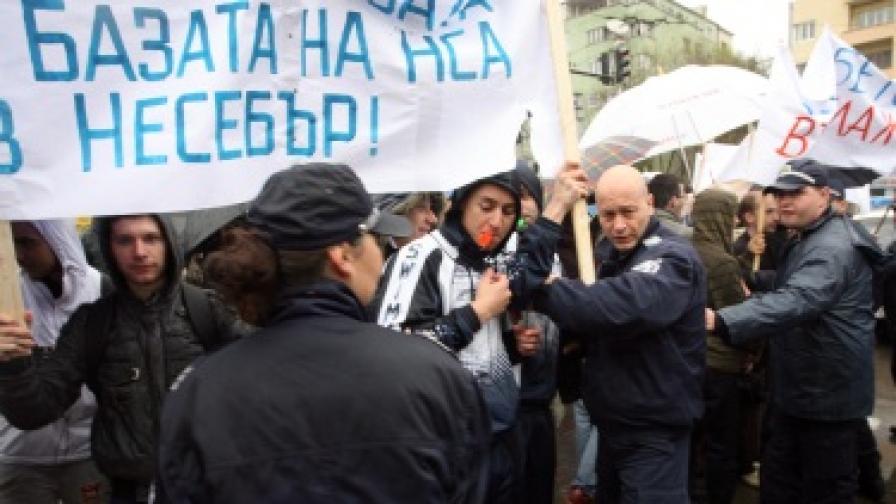Спорът за базата на НСА стигна до правителството